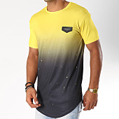 /achat-t-shirts-longs-oversize/gianni-kavanagh-tee-shirt-oversize-splats-jaune-degrade-noir-154767.html