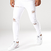 /achat-jeans/gianni-kavanagh-jean-skinny-destroyed-blanc-154785.html