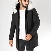 /achat-parkas/mtx-parka-fourrure-poche-bomber-s783-noir-blanc-154719.html