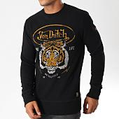 /achat-sweats-col-rond-crewneck/von-dutch-sweat-crewneck-tiger-noir-154660.html