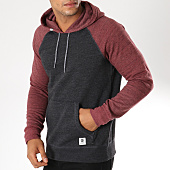 /achat-sweats-capuche/element-sweat-capuche-meridian-block-gris-anthracite-chine-bordeaux-chine-154901.html
