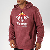 /achat-sweats-capuche/element-sweat-capuche-layer-bordeaux-chine-154907.html