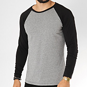 /achat-t-shirts-manches-longues/frilivin-tee-shirt-manches-longues-5125-gris-chine-noir-155022.html