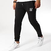 /achat-pantalons-joggings/siksilk-pantalon-jogging-muscle-fit-13230-noir-blanc-155009.html