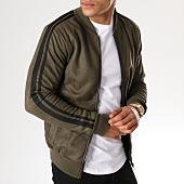 /achat-vestes/aarhon-veste-zippee-bandes-brodees-suedine-av07-vert-kaki-noir-155196.html