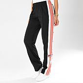 /achat-pantalons-joggings/adidas-pantalon-jogging-avec-bandes-femme-original-dh4677-noir-blanc-rose-155104.html