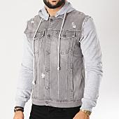 /achat-vestes/classic-series-veste-jean-dc2350-gris-chine-155075.html