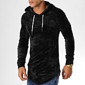 /achat-sweats-capuche/john-h-sweat-crewneck-oversize-velours-551-noir-155139.html