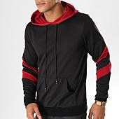 /achat-sweats-capuche/terance-kole-sweat-capuche-131821-noir-bordeaux-155201.html