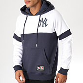 /achat-sweats-capuche/majestic-athletic-sweat-capuche-wells-fashion-mlb-new-york-yankees-bleu-marine-blanc-155229.html