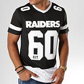 /achat-t-shirts/majestic-athletic-tee-shirt-de-sport-portmer-nfl-oakland-raiders-noir-blanc-155230.html