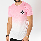 /achat-t-shirts/hype-tee-shirt-speckle-fade-rose-degrade-blanc-155473.html
