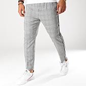 /achat-pantalons-carreaux/teddy-smith-pantalon-carreaux-avec-bandes-pywan-gris-155581.html