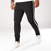 /achat-pantalons-joggings/terance-kole-pantalon-jogging-avec-bandes-a2703-noir-155534.html
