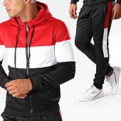 /achat-ensembles-survetement/zayne-paris-ensemble-de-survetement-tx-157-noir-blanc-rouge-155470.html