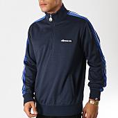 /achat-sweats-col-zippe/ellesse-sweat-col-zippe-avec-bandes-vinio-bleu-marine-155618.html