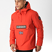 /achat-vestes/napapijri-veste-outdoor-rainforest-winter-rouge-brique-155776.html