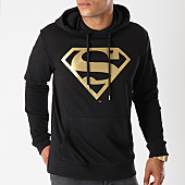 /achat-sweats-capuche/superman-sweat-capuche-gold-logo-noir-155676.html