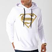 /achat-sweats-capuche/superman-sweat-capuche-gold-logo-blanc-155677.html