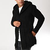 /achat-cardigans-gilets/ikao-gilet-oversize-avec-capuche-f3558-noir-155852.html