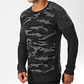 /achat-pulls/john-h-pull-3178-gris-anthracite-camouflage-155804.html