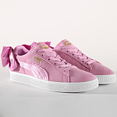 /achat-baskets-basses/puma-baskets-femme-suede-bow-367316-05-orchid-155811.html