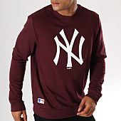 /achat-sweats-col-rond-crewneck/new-era-sweat-crewneck-team-logo-new-york-yankees-11863703-bordeaux-155951.html