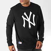 /achat-sweats-col-rond-crewneck/new-era-sweat-crewneck-team-logo-new-york-yankees-11863705-noir-155953.html