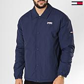 /achat-vestes/tommy-hilfiger-jeans-veste-essential-coach-5107-bleu-marine-155969.html