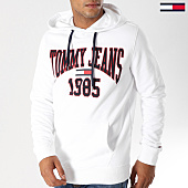 /achat-sweats-capuche/tommy-hilfiger-jeans-sweat-capuche-essential-graphic-5289-blanc-156055.html