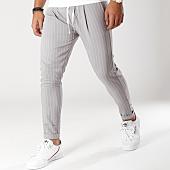 /achat-pantalons-carreaux/classic-series-pantalon-raye-b-7-gris-blanc-156177.html