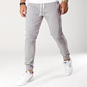 /achat-pantalons-carreaux/classic-series-pantalon-raye-a-4-gris-blanc-156194.html