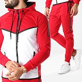/achat-ensembles-survetement/zayne-paris-ensemble-de-survetement-tx-142-rouge-blanc-156067.html