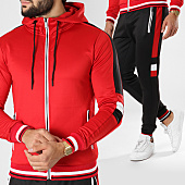 /achat-ensembles-survetement/zayne-paris-ensemble-de-survetement-tx-155-rouge-noir-blanc-156225.html