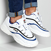 /achat-baskets-basses/fila-baskets-ray-low-1010561-01u-white-electric-blue-black-156274.html