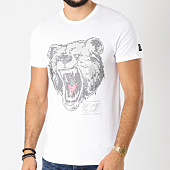 /achat-t-shirts/jeune-riche-tee-shirt-grizzly-strass-blanc-argente-156305.html