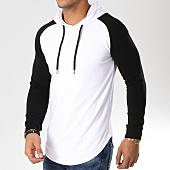 /achat-sweats-capuche/lbo-sweat-capuche-oversize-raglan-bicolore-blanc-noir-512-blanc-156322.html