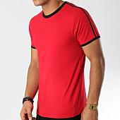 /achat-t-shirts/lbo-tee-shirt-avec-bandes-noir-et-rouge-523-rouge-156348.html