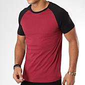 /achat-t-shirts/lbo-tee-shirt-raglan-555-noir-bordeaux-156350.html