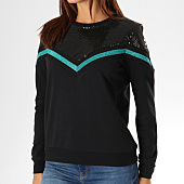 /achat-sweats-col-rond-crewneck/noisy-may-sweat-crewneck-a-sequins-femme-thil-demaria-noir-156468.html