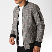 /achat-bombers/only-and-sons-bomber-bewo-wool-noir-ecru-camel-156404.html