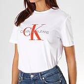 /achat-t-shirts/calvin-klein-tee-shirt-femme-satin-monogram-8608-blanc-156657.html