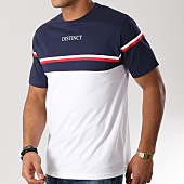 /achat-t-shirts/distinct-tee-shirt-stripes-blanc-bleu-marine-156552.html