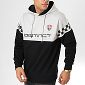 /achat-sweats-capuche/distinct-sweat-capuche-racing-noir-gris-chine-156557.html