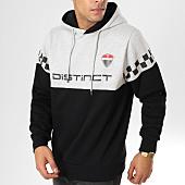 /achat-sweats-capuche/distinct-sweat-capuche-racing-noir-gris-chine-156557.html