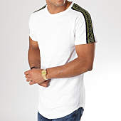 /achat-t-shirts-longs-oversize/frilivin-tee-shirt-oversize-avec-bandes-5122a-blanc-156648.html