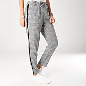 /achat-pantalons-carreaux/only-pantalon-femme-a-carreaux-et-bandes-poptrash-gris-156477.html