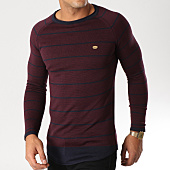 /achat-pulls/classic-series-pull-216-bordeaux-bleu-marine-chine-156709.html