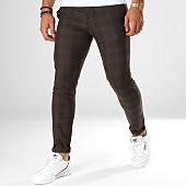 /achat-pantalons-carreaux/classic-series-pantalon-a-carreaux-28011-marron-noir-156733.html