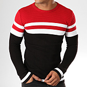 /achat-pulls/classic-series-pull-ad016-noir-rouge-blanc-156767.html